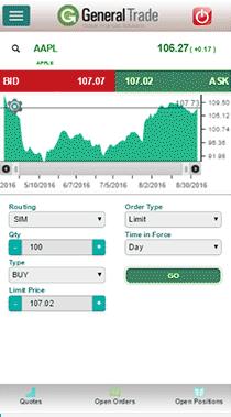 Trading System App